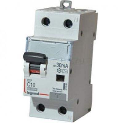 LEGRAND 409112 Автоматический выключатель, серия DX3, С10A, 25kA, 1-полюсный