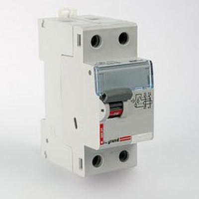 LEGRAND 411514 Дифференциальный выключатель, серия DX3, 25A, 100mA, 2-полюсный, тип АС
