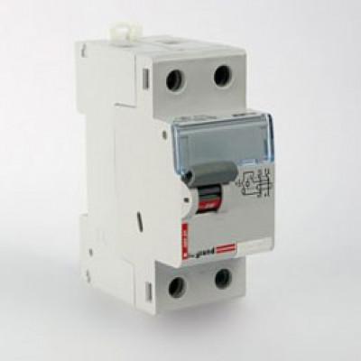 LEGRAND 411516 Дифференциальный выключатель, серия DX3, 63A, 100mA, 2-полюсный, тип АС