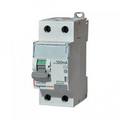 LEGRAND 411526 Дифференциальный выключатель, серия DX3, 63A, 300mA, 2-полюсный, тип АС