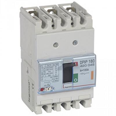 LEGRAND 420045 Автоматический выключатель, серия DPX3, 100A, 25kA, 3-полюсный