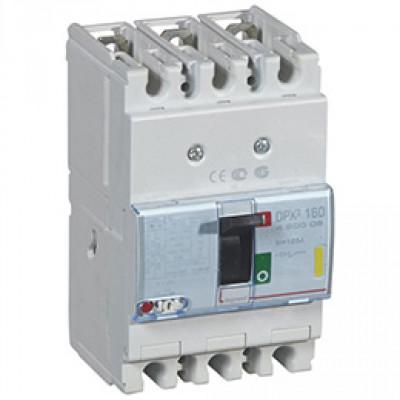 LEGRAND 420207 Автоматический выключатель, серия DPX3, 160A, 25kA, 3-полюсный
