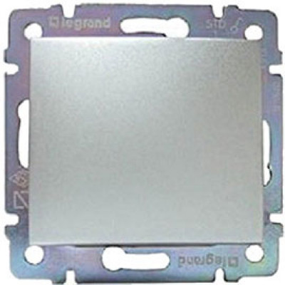 LEGRAND 770146 Заглушка, блестящий алюминий, Valena