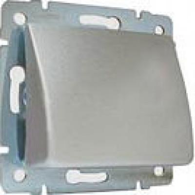 LEGRAND 770147 Вывод кабеля, блестящий алюминий, Valena