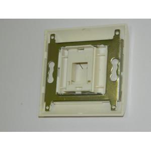 Лицевая рамка со вставкой под 1 модуль