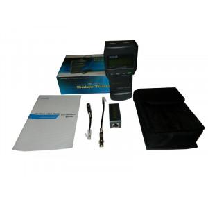 Тестер кабеля для UTP/FTP RJ45, BNC, RJ11/12, цифровой