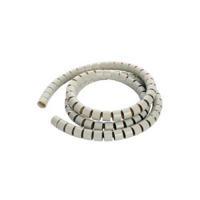 Пластиковый спиральный рукав для кабеля д.15 мм (5 м)