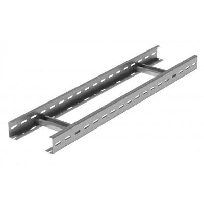 Вертикальный лестничный лоток для легких нагрузок 400х50х3000