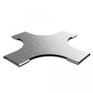 Крышка к Крестообразному разветвителю для лестничного лотка НЛО 200