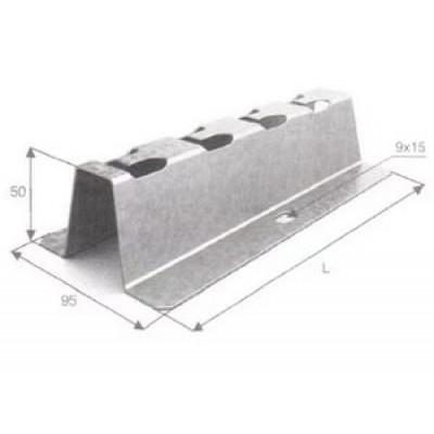 Напольно-настенный держатель 200 мм