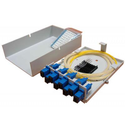 Кросс оптический настенный, микро, КОНм-8 LC,SM укомплектованный