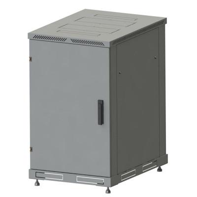 Шкаф телекоммуникационный напольный 33U, гл. 800 (600x800х1600) дверь металл