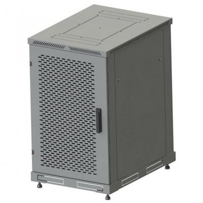 Шкаф телекоммуникационный напольный 38U, гл. 600 (600x600х1830) дверь перфорированная