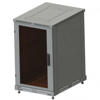 Шкаф телекоммуникационный напольный 42U, гл. 1000 (800x1000х2000) дверь стекло