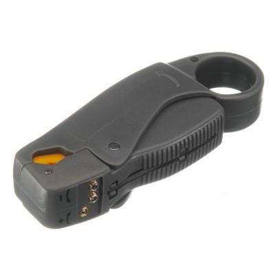 Инструмент для зачистки и обрезки коаксиального кабеля RG-11/213