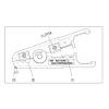 Инструмент для зачистки и обрезки кабеля UTP/STP, акустического, телефонного