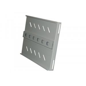 Полка стационарная усиленная для шкафа гл. 900, цвет-серый